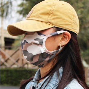 Fabric cotton mask, washable cotton mask